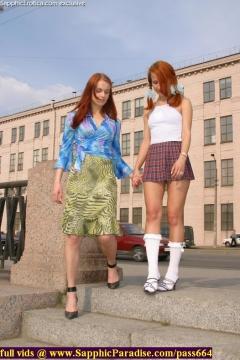 Sapphic Erotica energetic lesbian girls