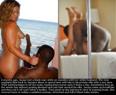 Interracial - Tropical Vacation for White Sluts! 2