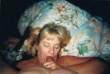 shaven alicia\'s pussy for her and she gave me a blowjob