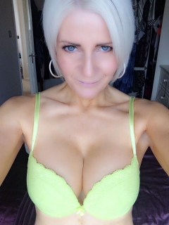 Young looking granny naked selfies - nude selfshot blonde gi