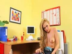 super-hot-blond-enjoys-striptease