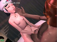 Anime Sweetie Blows And Rides Big Cock