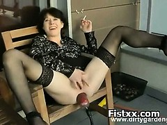 fist-ramming-for-busty-woman