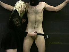 Mistress Handjobs Her Slave For His Daily Milking Experience