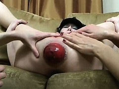 three-incredible-hands-in-prolapsed-anal