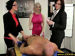 femdom-cfnm-office-babes-wanking-dude