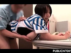 japanese-waitress-having-her-boss-drill-her-snatch-at-work