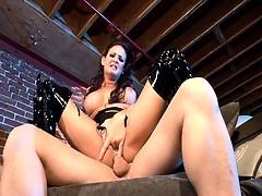 wild-brunette-fucked-in-shiny-black-stiletto-boots