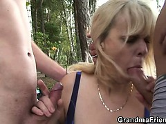 granny-is-double-fucked-near-the-lake