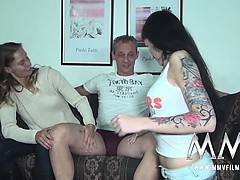 Hot Meli Joins In With A Married Couple To Fuck