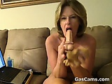 Mature Woman Loves Her Toys