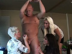 mature-clothed-domina-facialized