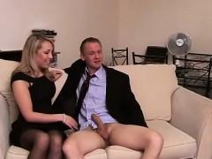 cfnm mistresses tugging humiliated dick