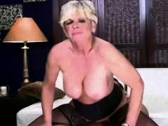 Blonde Granny Model In Hardcore