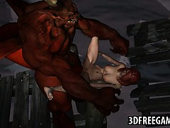 foxy-3d-redhead-babe-getting-fucked-hard-by-a-demon