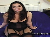 Hairy pussied housewife interracial anal