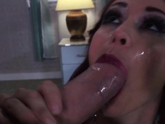 real-housewife-drinking-a-load-of-cum