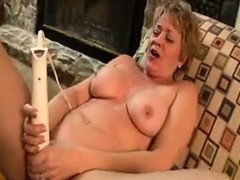 Mature Woman Masturbating