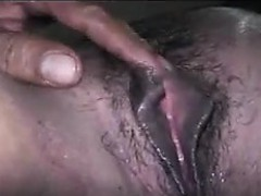Hairy Indian Pussy Getting Fingered