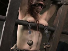 gagged-sub-gets-her-pussylips-stretched