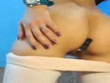 Buttplug engaged while wiggling ass