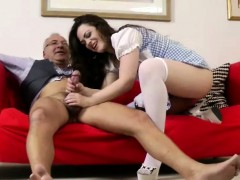 glamorous-brunette-assfucked-by-old-man