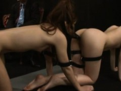 bondage-faceharness-dildo-asian-hotties