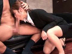 horny-asian-office-babe-orally-pleasing-her-boss-on-knees
