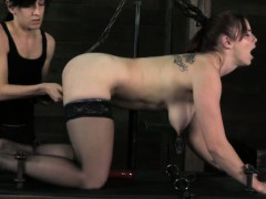 bdsm-sub-ass-toyed-while-anally-hooked