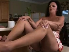 chubby-cougar-unload-him-with-her-feet