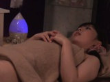 Two hot asian girls at massage studio