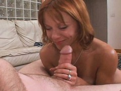 Red Haired Skank Wife Pounded By Dirty D