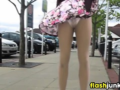 wind-blowing-a-milfs-skirt-around-in-public