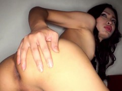 ladyboy-dewty-on-stairs-stripping-and-jerking