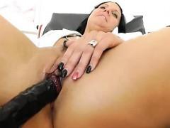 Kinky Head Medic Has Fun With Her Gigantic Vibrator