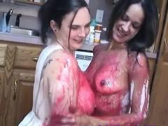 Real Messy Amateur Food Fetish Girls