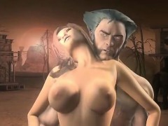 wolverine-gets-into-a-sticky-situation-amazing-3d-hentai