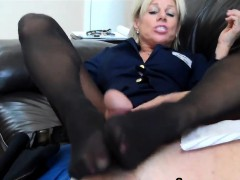 gettin-a-footjob-with-sexy-nylons-on