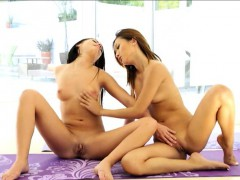 yoga-session-of-alina-and-adriana-turns-into-lesbian-action