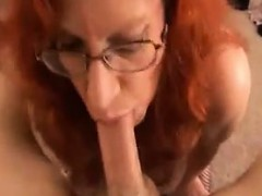 sexy red haired granny pleasing cock pov granny sex movies