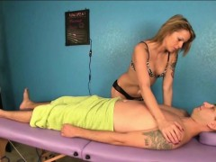 blonde-masseuse-ties-a-man-up-for-a-dominating-handjob