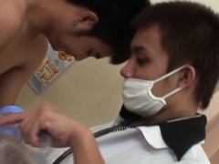Filipino Doctor Bareback Drills Twink Patients Squirting Ass