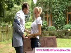 high-society-blonde-gives-blowjob