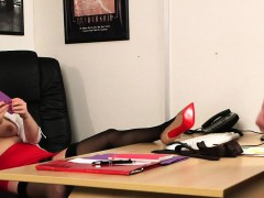 busty-clothed-office-babe