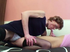 granny-helps-her-german-step-grandson-with-first-fuck