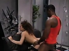 brazilian chick fucked by massive black cock