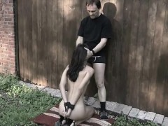 tied-in-ropes-slave-fulfilling-dominators-pleasures