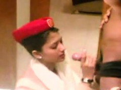 pretty-arab-stewardess-giving-a-blowjob