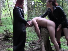 goth-femdoms-pegging-worthless-fool-together