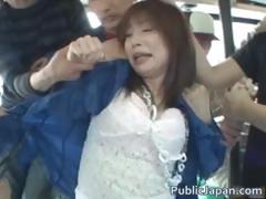 Akari Hoshino Hot Gangbang Sex Part4